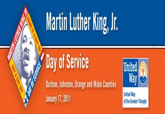 2011 Triangle Martin Luther King, Jr. Day of Service's Logo