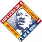 4th Annual MLK Jr. National Food Drive's Logo